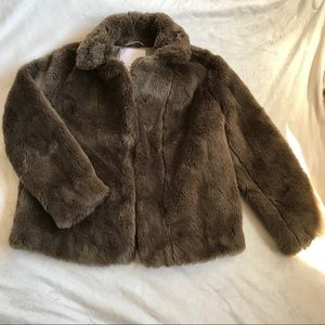 Sunday Best Mortimer Faux Fur Coat